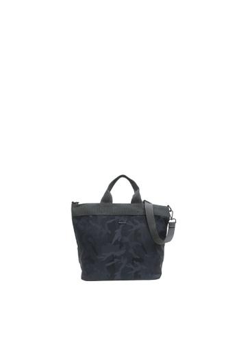 SEMBONIA grey Sembonia Nylon Crossbody Bag F3763AC83884E8GS_1