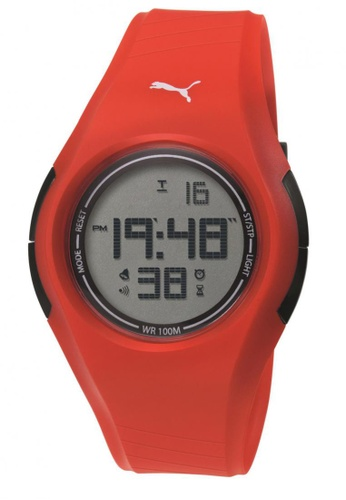 Puma orange Puma Tonic Orange Digital Watch PU440AC19CUISG_1
