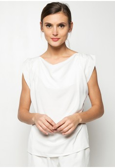 Him Extended Sleeve Blouse