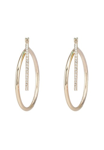 Pieces gold Kamma Creol Earrings DD058ACD490516GS_1