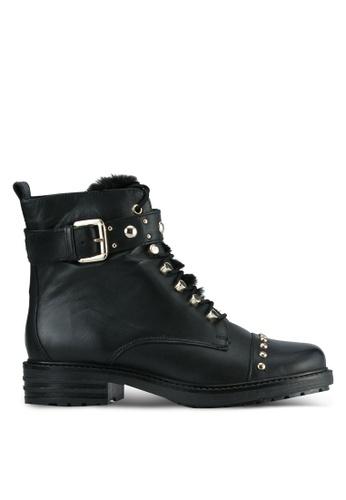Carvela KG black Black Leather Boots CA459SH0SCLNMY_1