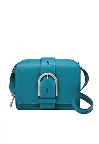Fossil blue Wiley Crossbody Eco Leather 741C1AC58CEE2AGS_1