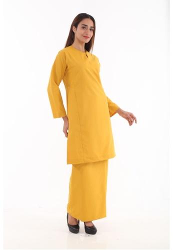 Amar Amran yellow and gold Baju Kurung Pahang Qirana 103D3AAA7BA890GS_1