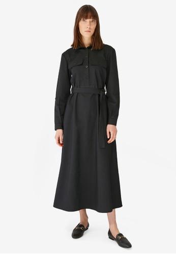 Trendyol black Black Collar Dress 1C8A7AA85BC910GS_1