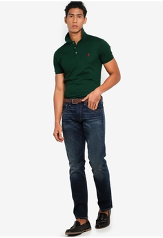 1727e278bd8206 Polo Ralph Lauren Custom Slim Fit Basic Mesh Polo Shirt S$ 199.00. Sizes S  M L XL