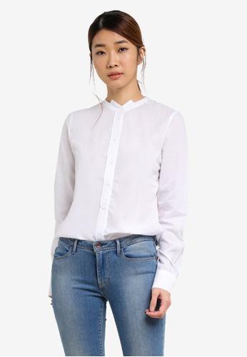 Vero Moda white Jaipve Shirt VE975AA0SEF3MY_1