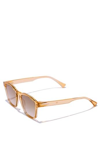 Hawkers gold HAWKERS Champagne CLASSY Sunglasses 8ED4FGLF171105GS_1