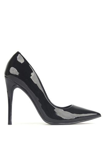 Betts black Blossom Patent Stiletto Heels E0742SH10FA7A4GS_1
