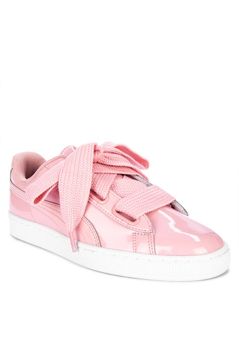 intersección de acuerdo a imagen  Shop Puma Basket Heart Patent Women's Sneakers Online on ZALORA Philippines