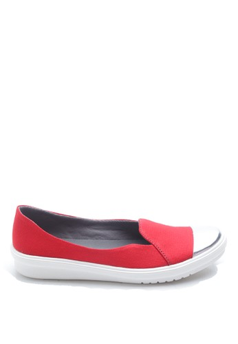 Dr. Kevin red Dr. Kevin Women Flat Shoes Slip On 43185 - Red DR982SH46FUZID_1