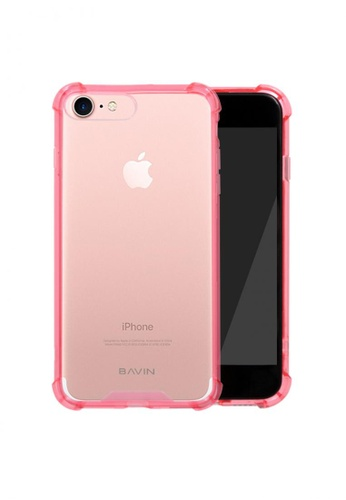 BAVIN pink TPU Soft Case Protector for iPhone 7 18D22ACE80A449GS_1