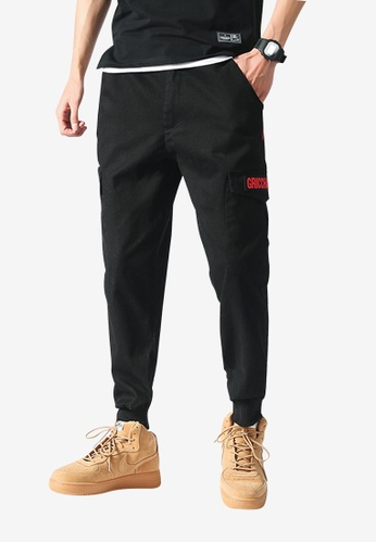 hk-ehunter black Men Jogger Pants D0DBEAAF091D58GS_1