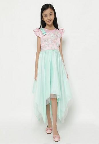 Princessa Flami pink and multi Dress Anak Pink Mint 1899 EF364KA67F57EFGS_1
