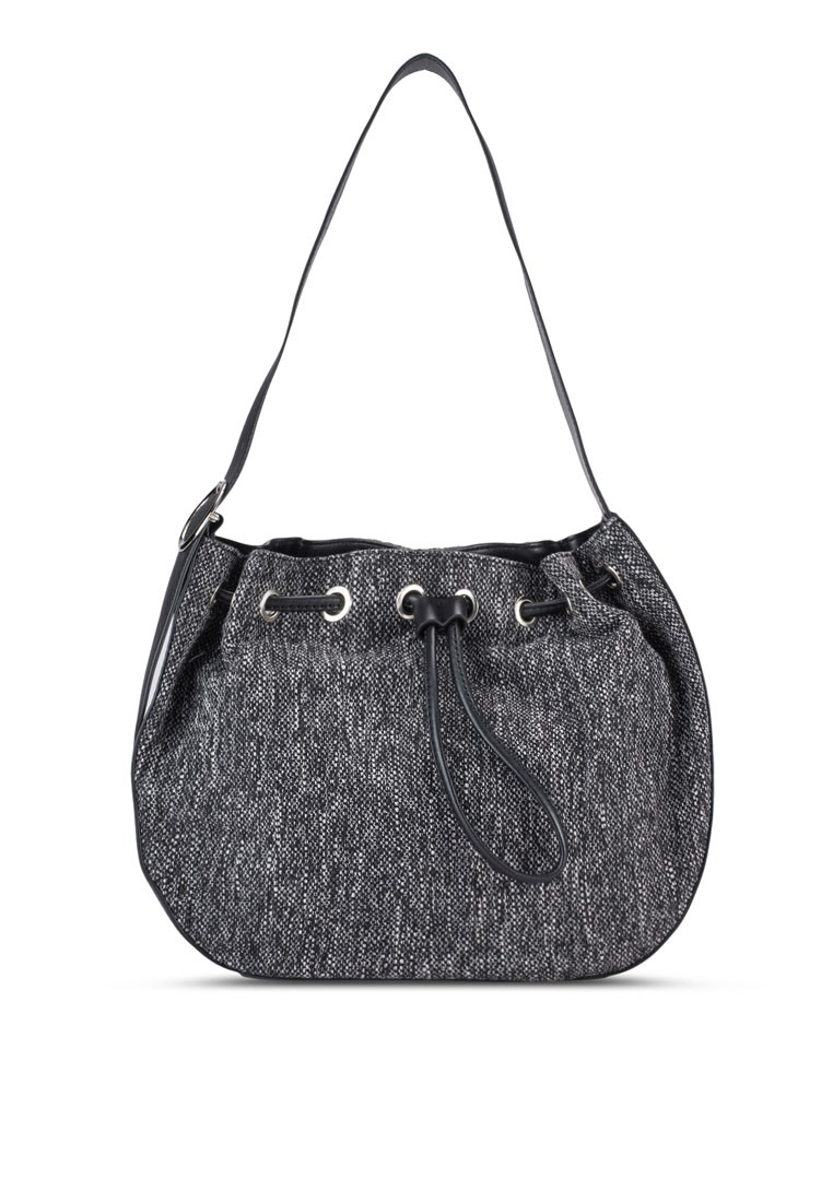 Drawstring Saddle Bag