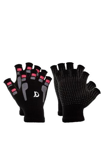 Darlington black Men's Gloves with anti slip (2 in 1) Wearables DA516AC0KNT6PH_1