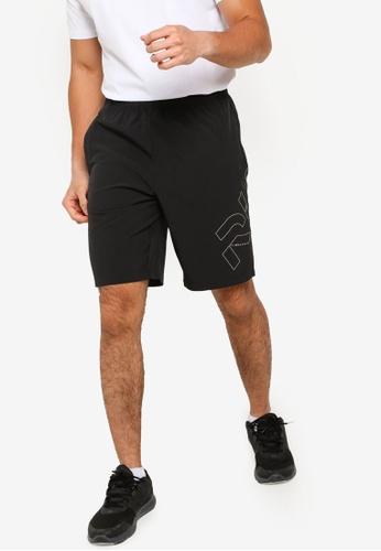 361° black Running Series Sports Knee Shorts 7E2ADAA34BB2A0GS_1