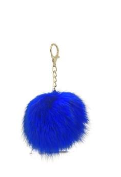 Image of Gantungan Pompom Bag Charm - Blue