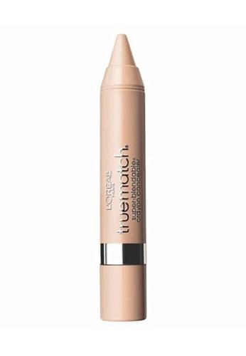 L'Oréal Paris beige L'Oreal Paris True Match Crayon Concealer Fair/Light Neutral N1-2-3 A2CAEBE5DDEFE9GS_1