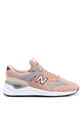 New Balance pink X90 Heritage Reconstructed Shoes 2C236SH8BFCF2CGS_1