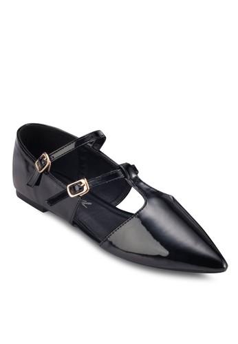 Mary Janzalora 心得e 尖頭平底鞋, 女鞋, 鞋