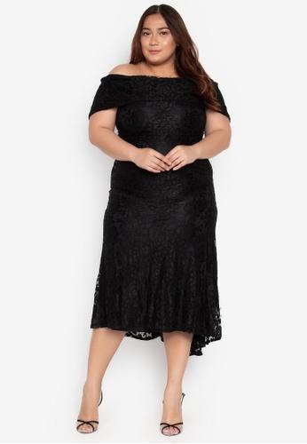Shop Ashley Collection Plus Plus Size Maxi Dress Online on ZALORA ... 145e764f3