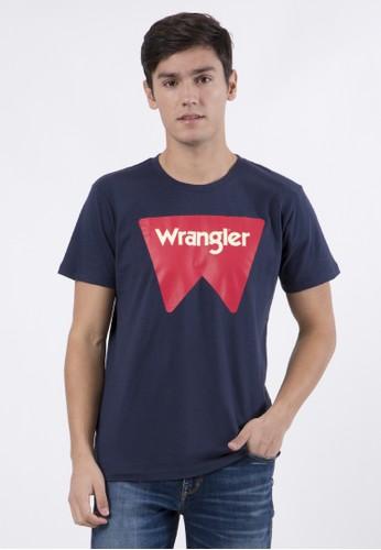 Wrangler navy Sam T-Shirt C07P20 1CA34AAB574E7BGS_1