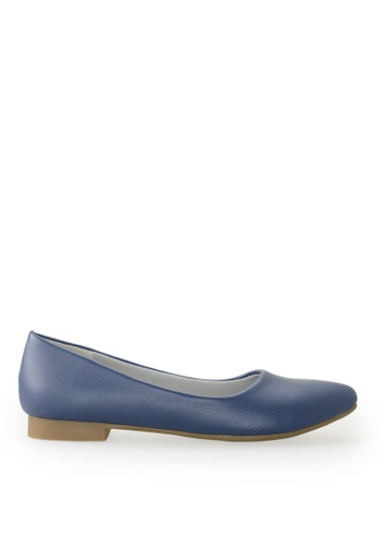 Footspot blue FOOTSPOT - Pointed Toe Flats AB822SH1A0BC40GS_1