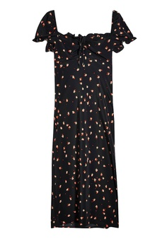 14264c1aa430 TOPSHOP Square Neck Floral Midi Dress S$ 89.90. Sizes 6 8 10 12