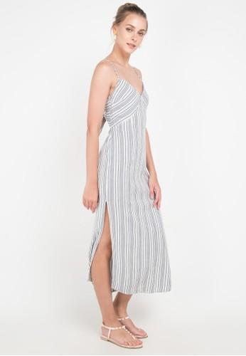White Sands Dress-Cbl - Casa Blanca - AMUSE bf5718763d