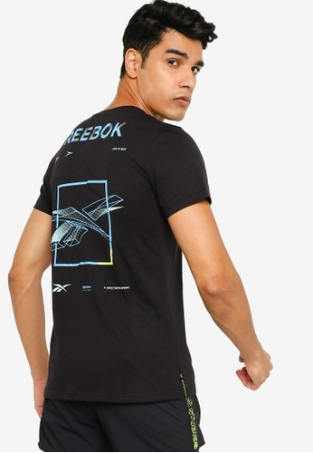 Reebok 黑色 Speedwick Move T-Shirt B4230AA3D7DBE5GS_1