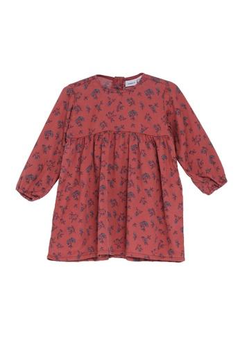 NAME IT red Nulrikke Long Sleeves Dress 88D08KABD6D715GS_1