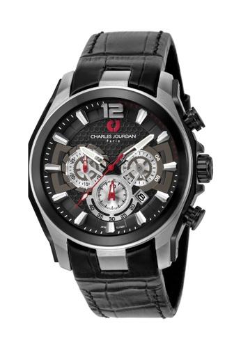 Charles Jourdan silver Charles Jourdan Men Watch Chronograph CJ1037-1335C E6E51AC7507953GS_1