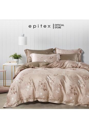 Epitex Epitex BP5309 Bamboo 1000TC Xhale Printed Bedsheet - Bedset - Bedding Set (w quilt cover) 6465FHLFBE5773GS_1