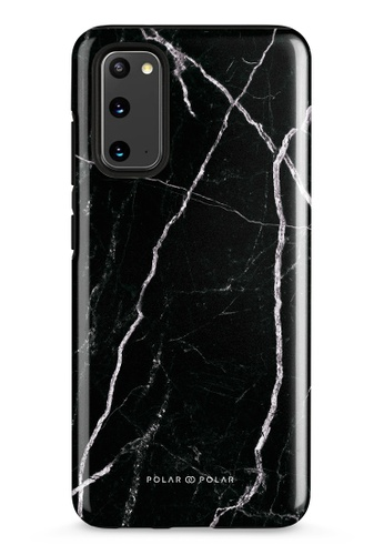 Polar Polar black Secret Dark Samsung Galaxy S20 5G Dual-Layer Protective Phone Case (Glossy) 5D292AC779BB89GS_1