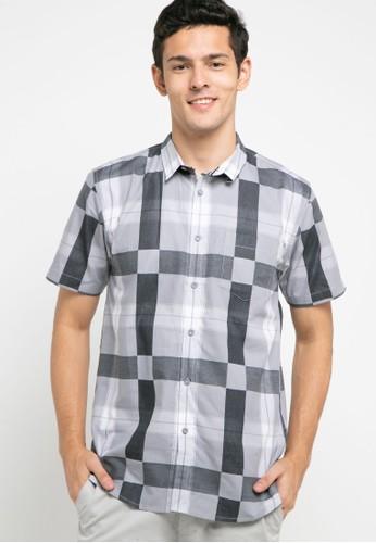 OLLten grey O/L-Men Shirt 22D9DAA5D8098DGS_1