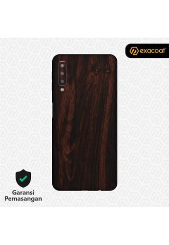 Exacoat Galaxy A7 (2018) 3M Skins Wood Mahogany - Cut Only ED811ES770E7D9GS_1