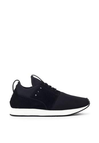 Navara black Esteemist Dim Black Sneakers 04FA4SHE8C9D4FGS_1