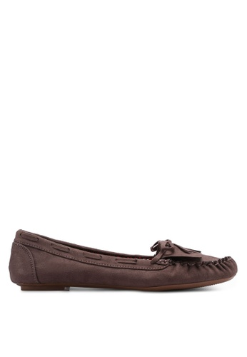 Dorothy Perkins brown Taupe Laddy Moccasins 7B637SH8762ED7GS_1
