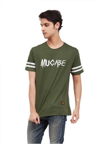 MUGABE green MUGABE Kaos Pria fear green 992ACAAE84250AGS_1