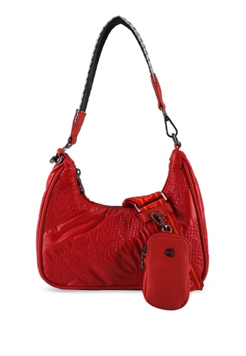 Desigual red Casual Crossbody Bag 3F6C1AC6308D23GS_1