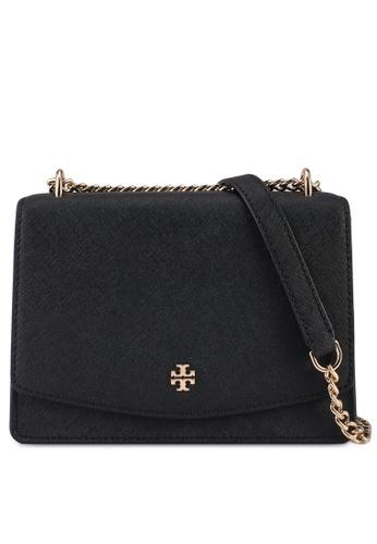 TORY BURCH black Emerson Mini Shoulder Bag (NT) 0F0DCAC9AA9553GS_1
