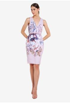 5a693a46b7e4 Little Mistress Blush Midi Dress S$ 121.90. Sizes 6 8 10 12 14 · Little  Mistress pink Rose Lace Midi 6E95BAA6E8EA94GS_1