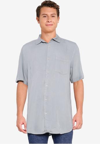 Cotton On green Cuban Short Sleeve Shirt B4557AAE7A5DFAGS_1
