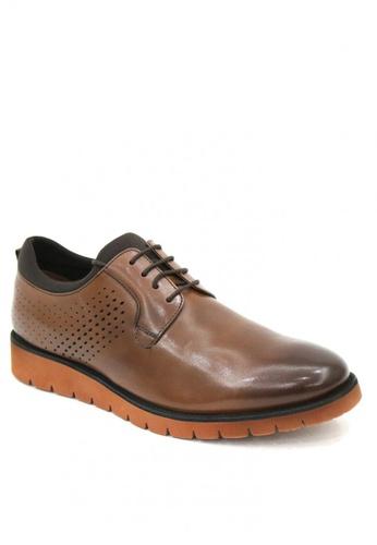 East Rock brown Tayshaun Formal Shoes 68A29SHD370BE4GS_1