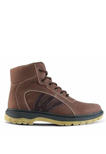 Sogno brown Sepatu Boot Pria GF.7007 73D42SH60B0A77GS_1