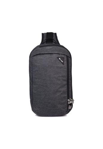 Pacsafe grey Pacsafe Vibe 325 Anti-Theft Sling Pack (Granite Melange) 846A4ACD54CEB4GS_1
