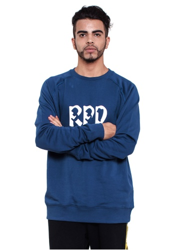 Reoparudo navy RPD Reflective 331 Edition Sweatshirt (Navy Blue) RE413AA0GHLUSG_1