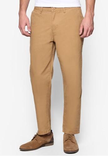 棉質直筒esprit 會員卡長褲, 服飾, 長褲