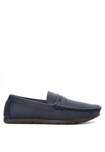 H2Ocean blue Mens Casual Loafers H2527SH0J9TQPH_1