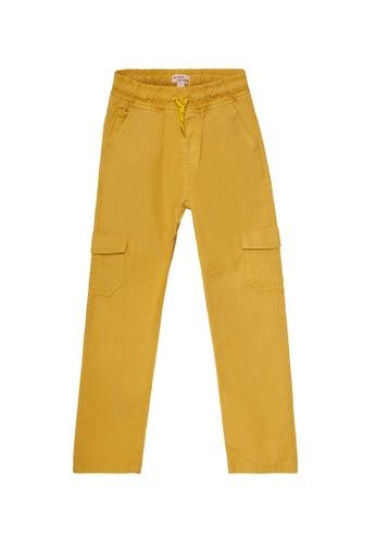 Du Pareil Au Même (DPAM) yellow Light Yellow Pants 19466KA27A6D57GS_1